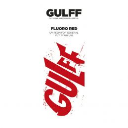 UV GLUE GULFF FLUORO RED 15ml