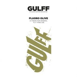 UV GLUE GULFF FLUORO OLIVE 15ml