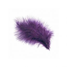 TURKEY MARABOU PURPLE