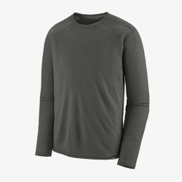 CAPILENE MIDWEIGHT CREW FORGE GREY