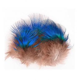 PEACOCK BLUE NECK