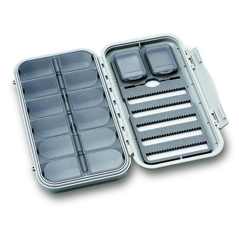 CF-3305N LARGE 5-ROW DRY & NYMPH WP FLY CASE W/12 COMP C&F design - 1