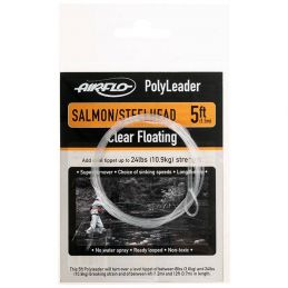 POLYLEADER 5FT SALMON AND STEELHEAD (Finale 0.40mm 1.5m)