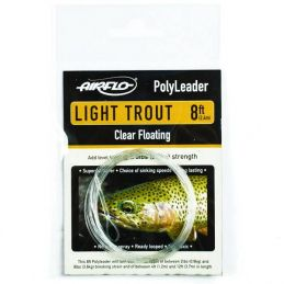 POLYLEADER 8FT LIGHT TROUT (Finale 0,24mm 2.4m) AIRFLO - 1
