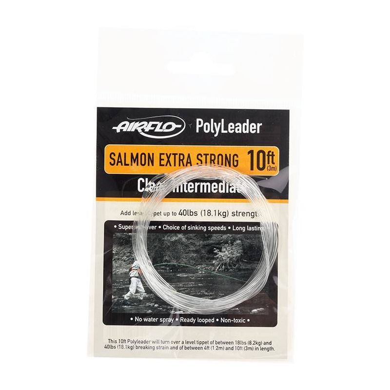 POLYLEADER 10FT SALMON EXTRA STRONG (Finale 0,50mm 3.0m) AIRFLO - 1