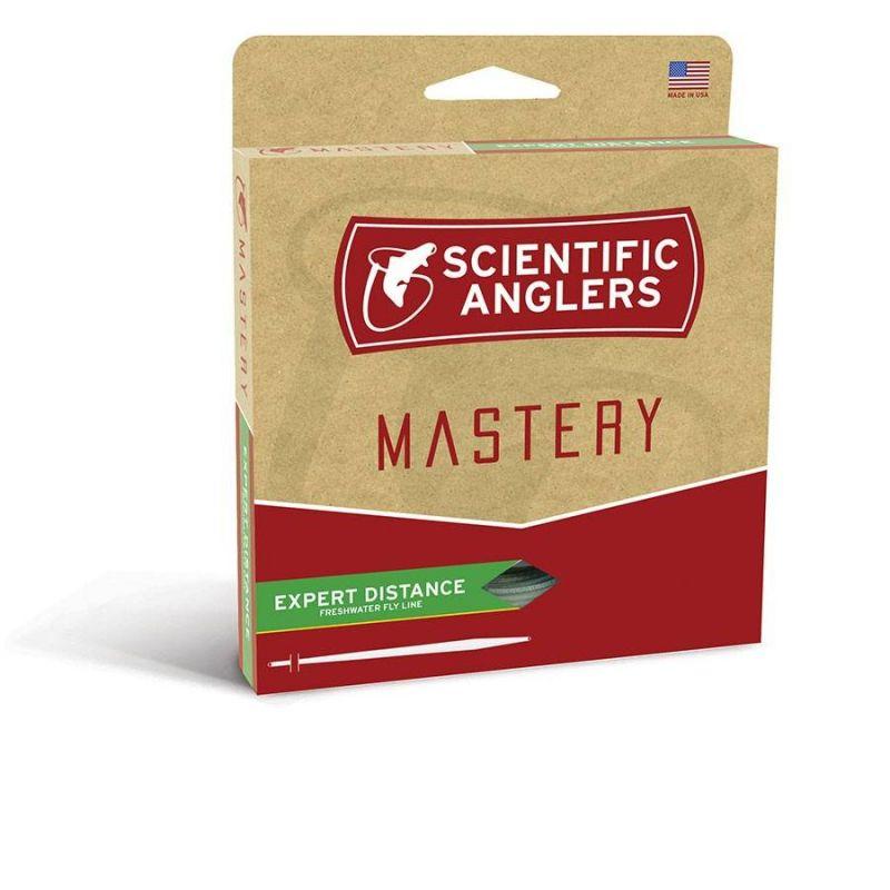 MASTERY EXPERT DISTANCE COMPETITION ORANGE 120FT SCIENTIFIC ANGLERS - 1