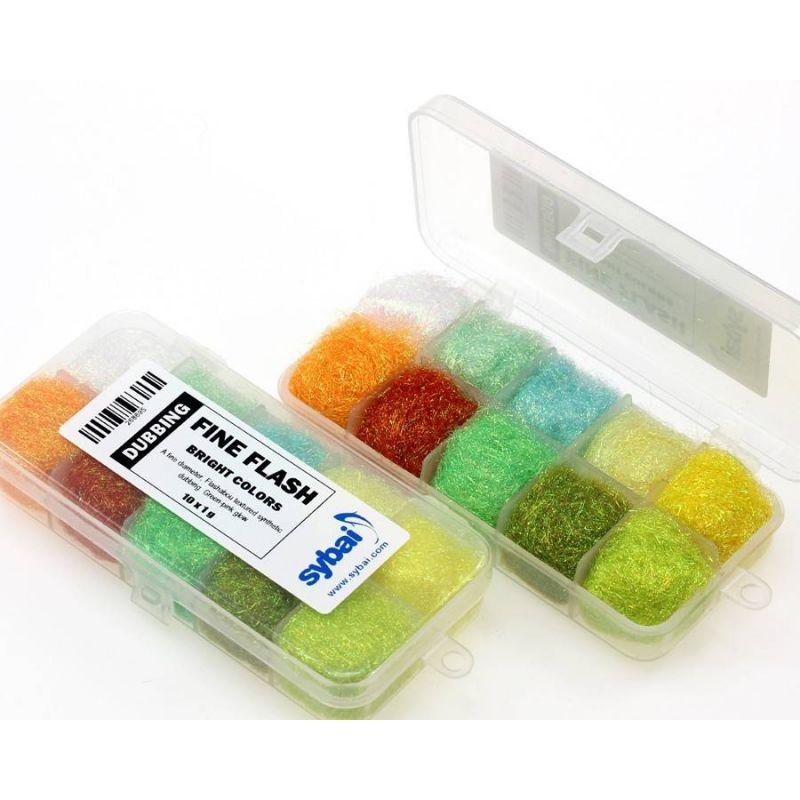 SYBAI - FINE FLASH DUBBING BOX Bright