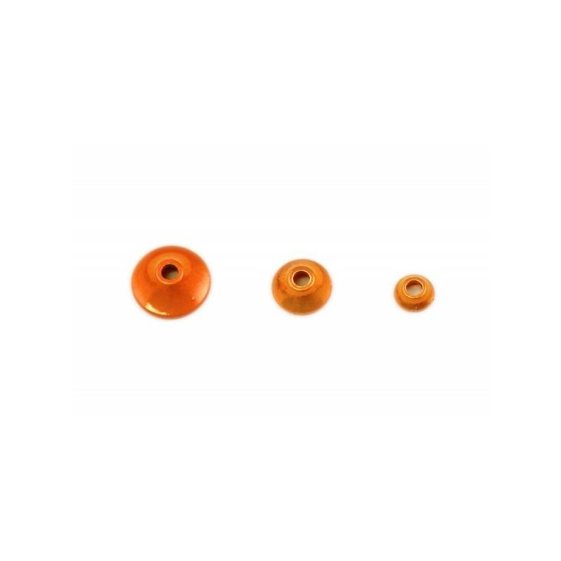 FITS TUNGSTEN TURBO CONE MET ORANGE FRODIN FLIES - 1
