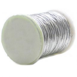 OVAL TINSEL SILVER