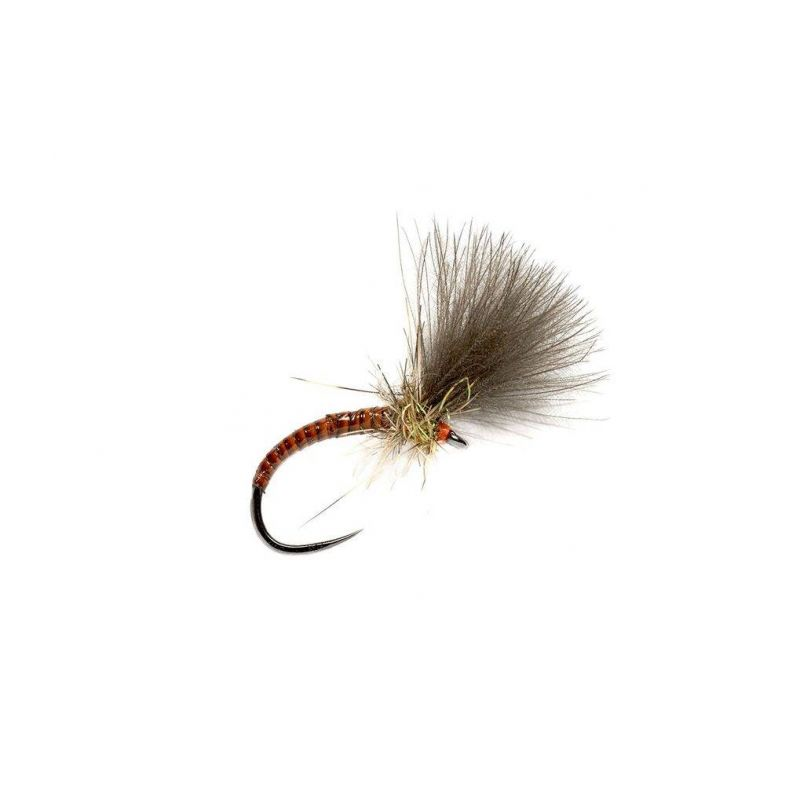 2871 Quill CDC Emerger Orange FULLING MILL - 1