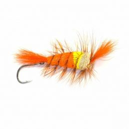 TRI TURBO ORANGE FRODIN FLIES - 1