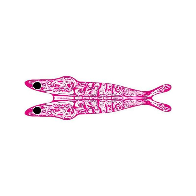 3D SHRIMP SHELL PINK ON CLEAR PRO SPORTFISHER - 1