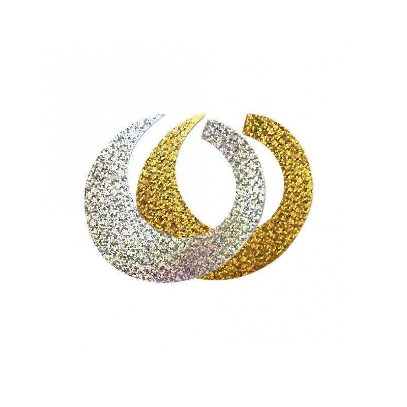WIGGLE TAIL GOLD-SILVER FISHON - 1