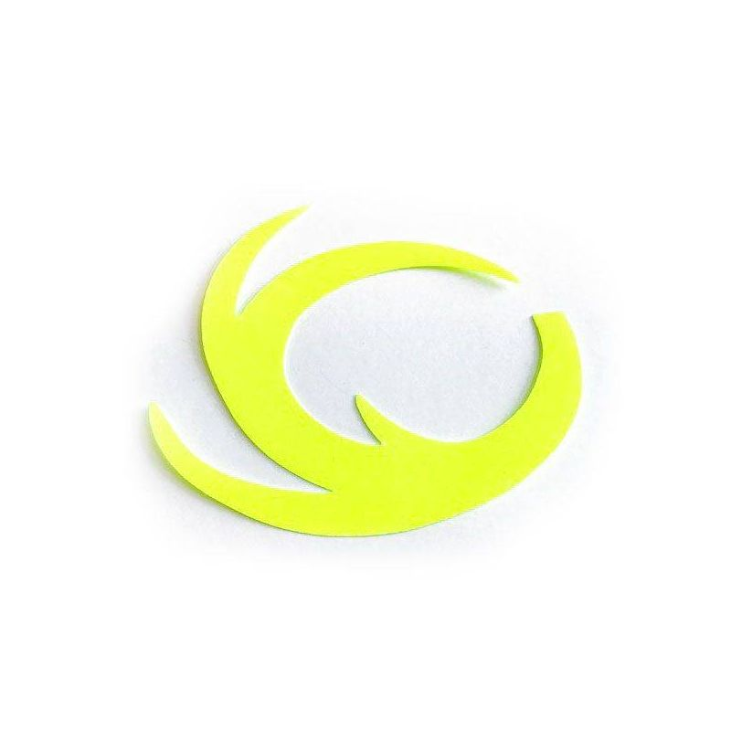 DRAGON TAIL FLUO YELLOW