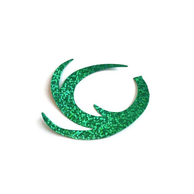 DRAGON TAIL HOLO GREEN FISHON - 1