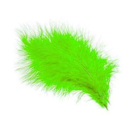 TURKEY MARABOU FLUO CHARTREUSE