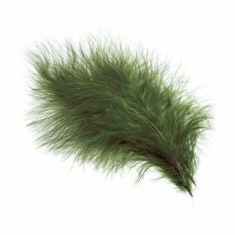 TURKEY MARABOU DARK OLIVE
