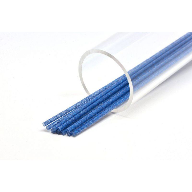 SOFT GLITTER TUBE 3 mm BLUE FUTUREFLY - 1