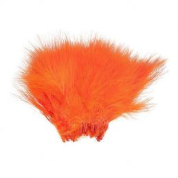 WOLLY BUGGER MARABOU FLUO FIRE ORANGE