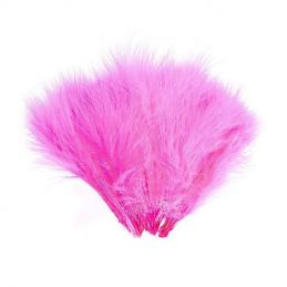 WOLLY BUGGER MARABOU FL. PINK