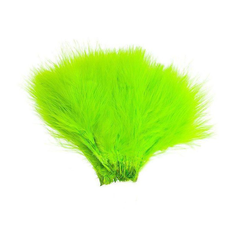 WOLLY BUGGER MARABOU CHARTREUSE WAPSI - 1