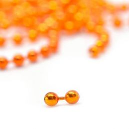 BEAD CHAIN EYE ORANGE