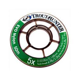 EVO TIPPET NYLON 50M. TROUTHUNTER - 1