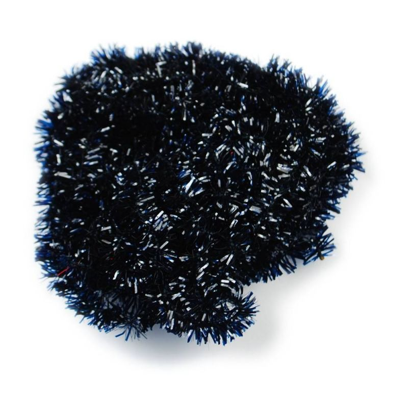 TEXTREME - ICE CHENILLE 6 mm - BLACK