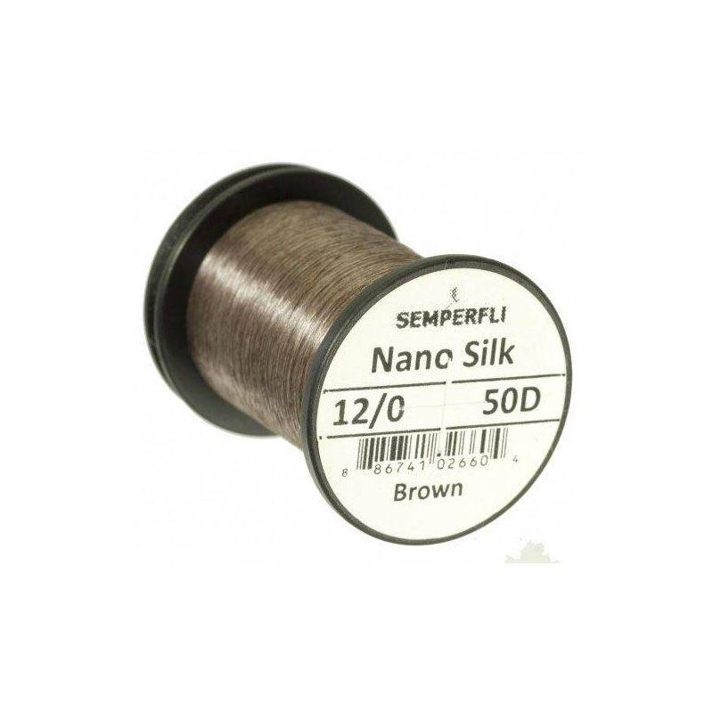 NANO SILK 12/0 (50 DENARI) - BROWN