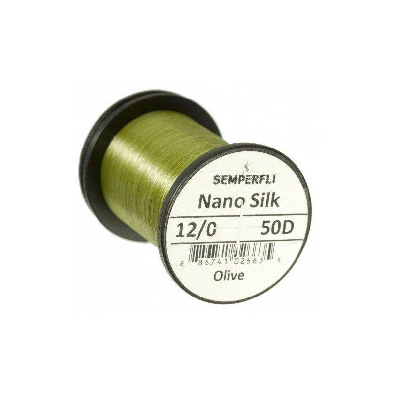NANO SILK 12/0 (50 DENARI) - OLIVE SEMPERFLI - 1