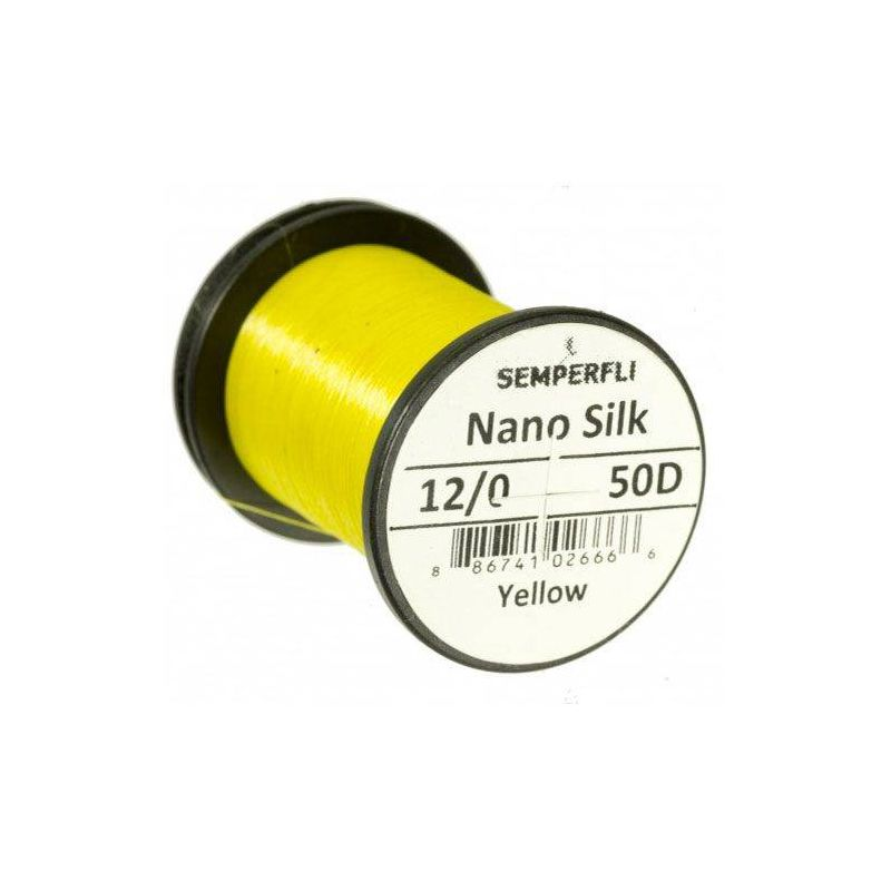 NANO SILK 12/0 (50 DENARI) - YELLOW SEMPERFLI - 1