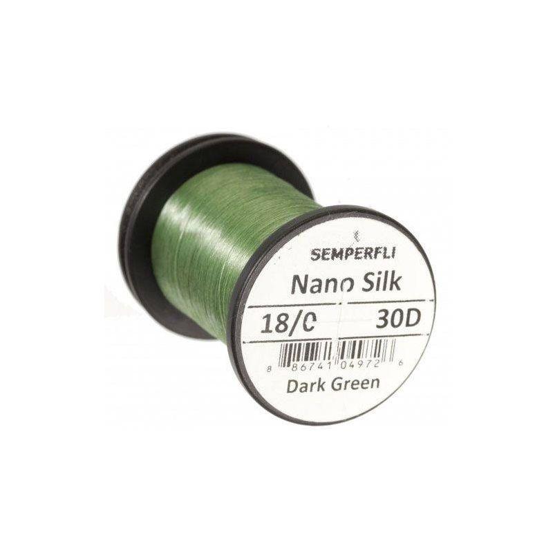 NANO SILK 18/0 (30 DENARI) - DK GREEN SEMPERFLI - 1