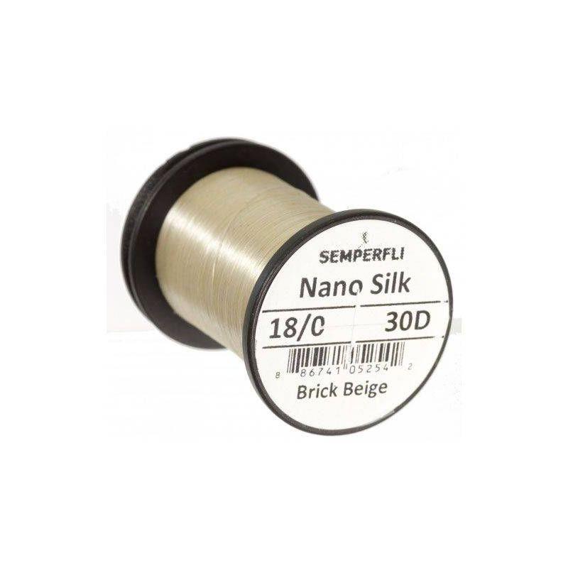 NANO SILK 18/0 (30 DENARI) - BRICK BEIGE SEMPERFLI - 1