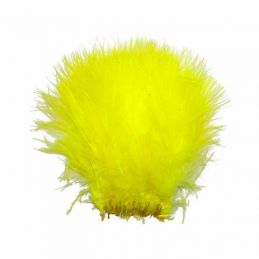 TURKEY MARABOU FLUO YELLOW