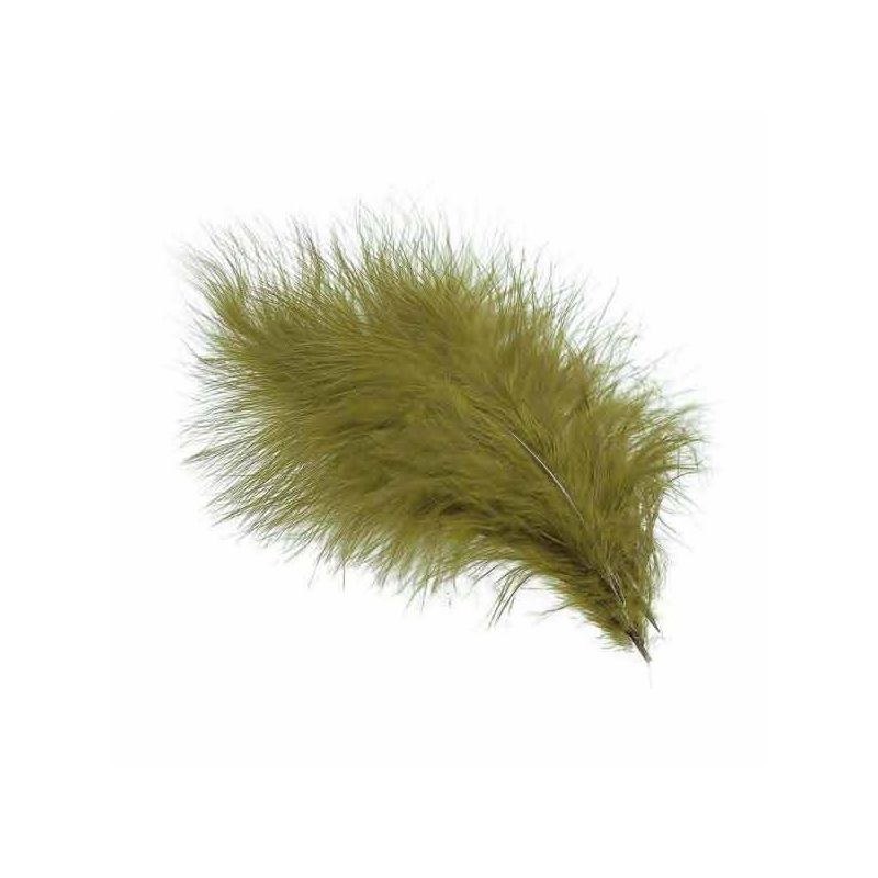 TURKEY MARABOU MED OLIVE VENIARD - 1