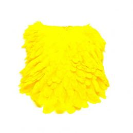 SIGNATURE HEN SADDLE YELLOW
