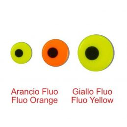 FLUO LURE EYES ORANGE STONFO - 1
