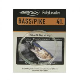 POLYLEADER 4FT BASS/PIKE (1.2m) AIRFLO - 1