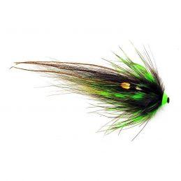 NOBODY SERIES BLACK GREEN HELMET FRODIN FLIES - 1
