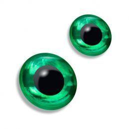 3D EYES - GREEN
