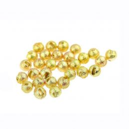 TUNGSTEN SUNNY BEADS GOLD 10PZ SOLDARINI FLY TACKLE - 1