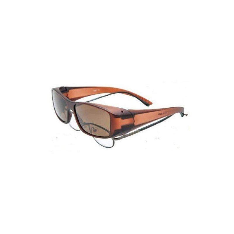 FIT OVER DEMI BROWN LENS AQUA - 1