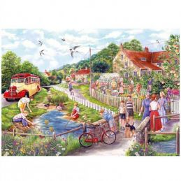 SUMMER BY THE STREAM PUZZLE 250XL pcs GIBSONS - 1