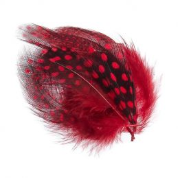GUINEA FOWL RED