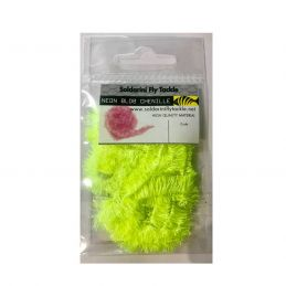 NEON BLOB CHENILLE FLUO YELLOW SOLDARINI FLY TACKLE - 1