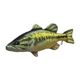 BLACK BASS PILLOW 67cm