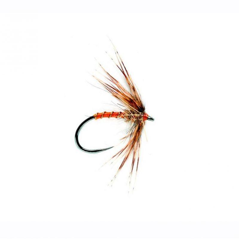 Trota Temolo Mosche// 3 Partridge /& ORANGE SPIDER Ninfe