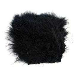 WOLLY BUGGER MARABOU BLACK