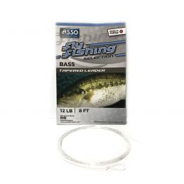BASS TAPERED LEADER 8FT ASSO - 1