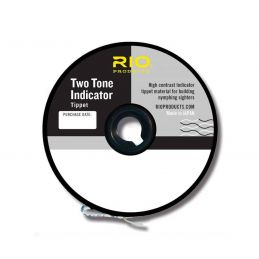 TWO TONE INDICATOR TIPPET - BALCK-WHITE